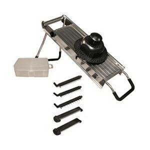 Weston 01-0006 Weston Professional Stainless Steel Mandoline Slicer