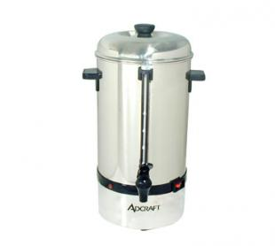 Adcraft Stainless Steel 60 Cup Coffee Percolator & Auto Temp CP-60