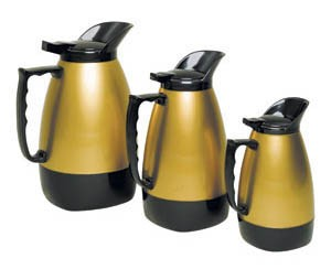Update H422/32 32-oz Insulated Coffee Server - Black/Gold Traditional  Airpot, Thermal Carafe