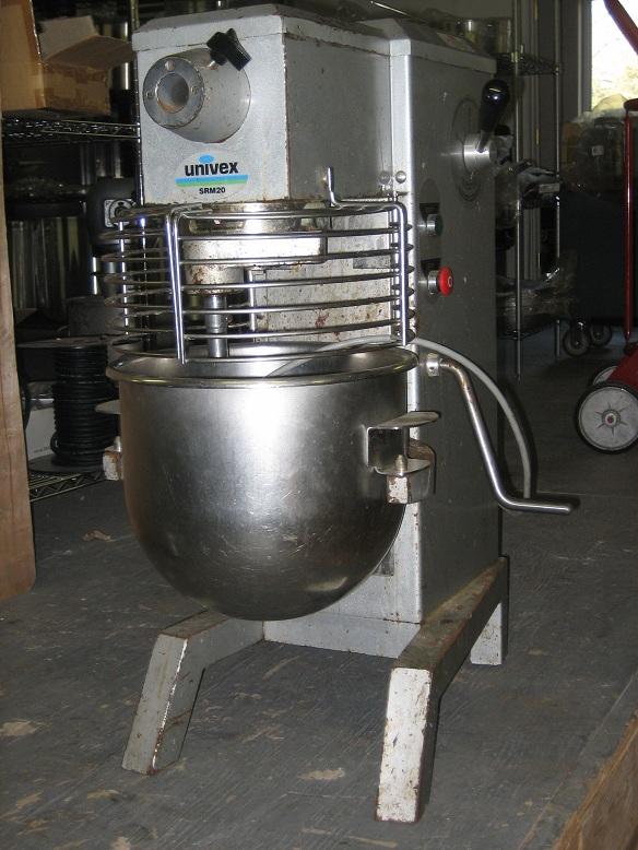 Univex SRM20  20 qt Mixer Used