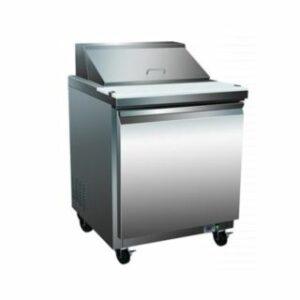 Serv-Ware 8 Pan Sandwich Prep Table Unit SP29-8