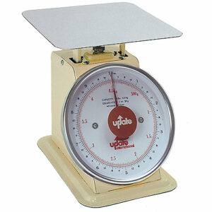 """Update UP-810 8"""" Dial Portion Scale - 10 lb manual"""
