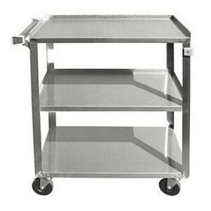 Update BC-2415SS Three-tier Stainless Steel Utility Cart