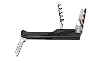 Deluxe Waiter's Corkscrew Black