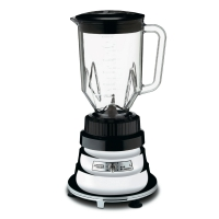 Waring Basic 1/2HP Chrome Bar Blender with 48-oz BPA Free Copolyester Container (BB160)