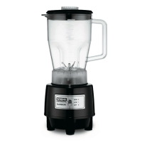 Waring 1.5 HP Half Gallon Blender with 64 oz BPA Free Copolyester Container (HGB140)