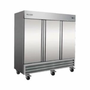 Serv-Ware Stainless Steel Reach-In Refrigerator 3 Door RR-3