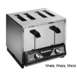 Toastmaster TP424 Pop-Up Toaster, 4-slice bread toaster 280/240V