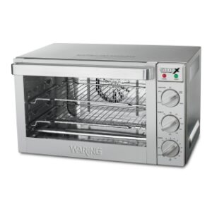 Waring WCO500 1.5cu ft Half size Heavy Duty Convection Oven