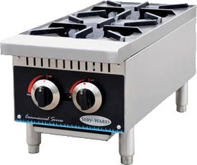 Serv-Ware SHP-12 Hot Plate 2 burner