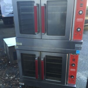 Vulcan VC4 GD-10 double stacked Gas Convection Ovens Used Great Pricing